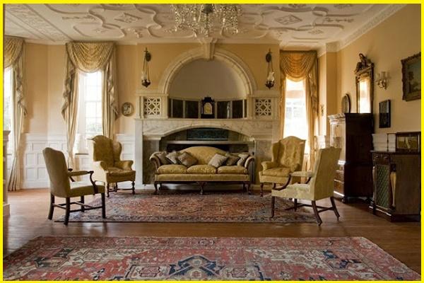 victorian modern terrace living room