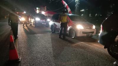 70 Unit Mobil Masuk Tebingtinggi Diputar Balik!
