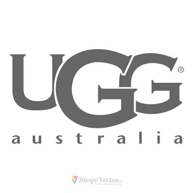 UGG footwear Logo Vector