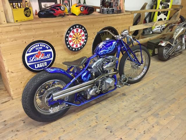 Harley Davidson Shovelhead By Boccin Custom Cycles Hell Kustom