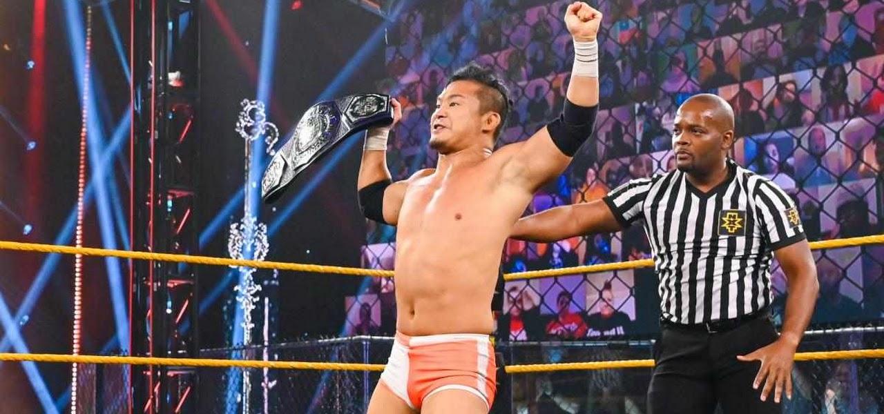 NXT Cruiserweight Title estará em jogo no próximo WWE NXT