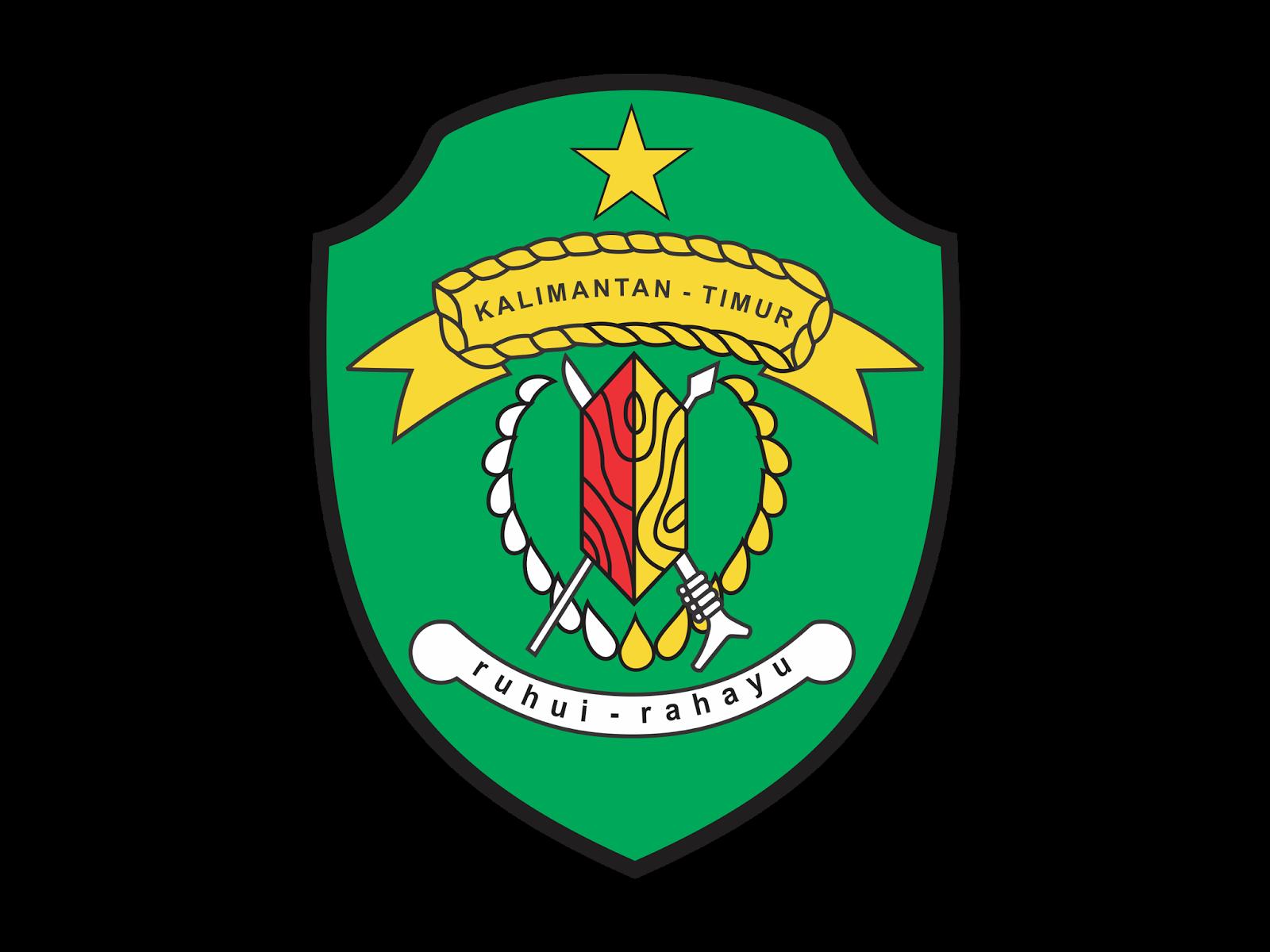 Warung Vector Logo Provinsi Kalimantan Timur Cdr Format Dan Png