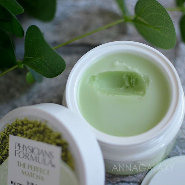 Мягкая приятная текстура Physicians Formula The Perfect Matcha 3-in-1 Melting Cleansing Balm