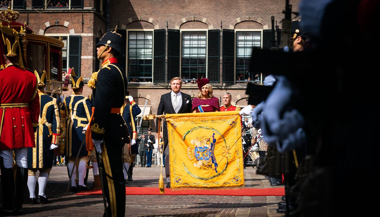 Король Нидерландов Виллем-Александр и королева Максима. Фото: Ministerie van Financiën / Martijn Beekman.