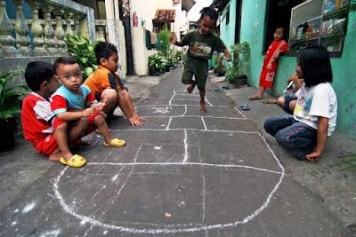 senarai permainan zaman kanak - kanak