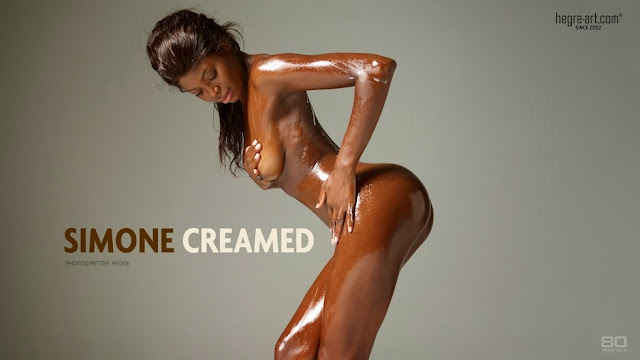 Hegre-Art Simone Creamed-October 01 2014