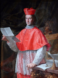 Francesco Trevisiani's portrait of Cardinal Pietro Ottoboni, painted in around 1689