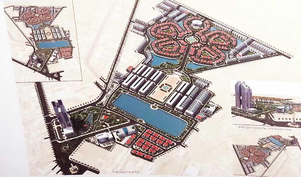 Sơ đồ quy hoạch dự án công viên Hồ Nước Ngọt của FLC