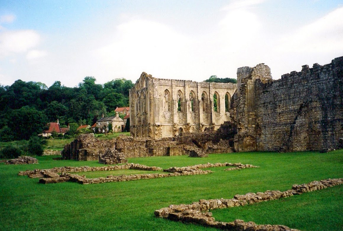 Rievaulx Abbey in Yorkshire, UK
