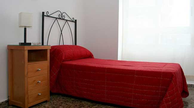 piso en alquiler zona sensal castellon dormitorio