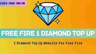 FREE Fire 1 Diamond Top Up