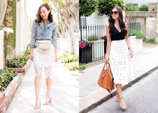 22 Wege diesen Frühling Midi-Röcke zu tragen