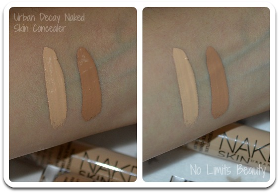 Urban Decay Naked Skin Concealer: review y swatches