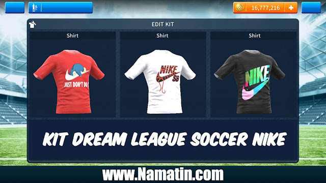 Kit Dream League Soccer Nike