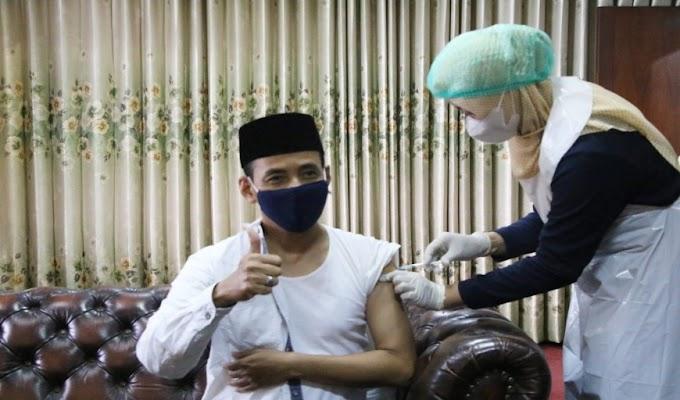 50 Orang Pejabat Pemkab Serang di Suntik Vaksin, Hasilnya Tidak Ada KIPI
