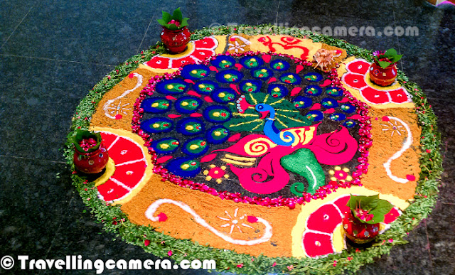 Simple and Beautiful Rangoli Designs for celebrating the Hindu festival of lights Diwali with your family
