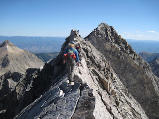 the Knife Edge on Capitol Peak