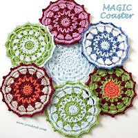 how to crocet, crochet patterns, coasters,