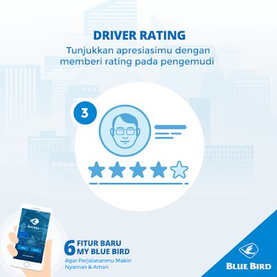 Driver Rating my blue bird