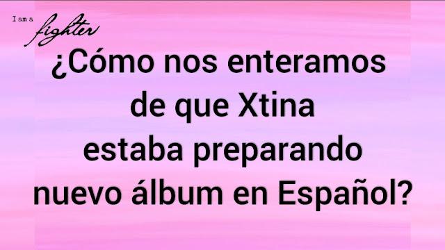 Cómo nos enteramos nuevo album español de Christina Aguilera