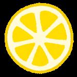 フルーツのマーク(レモン)