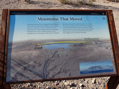 Mountains That Moved Sign.