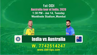 Today Ind vs Aus Fantasy 11 sure Team reports