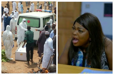Kyri's Burial: Nigerians Call On Fed. Gov't To Apologise And Refund Funke Akindele