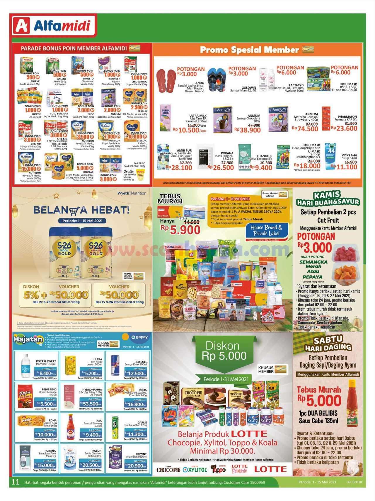Katalog Promo Alfamidi 1 - 15 Mei 2021 11