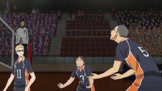 ハイキュー!! アニメ 3期2話 | Karasuno vs Shiratorizawa | HAIKYU!! Season3