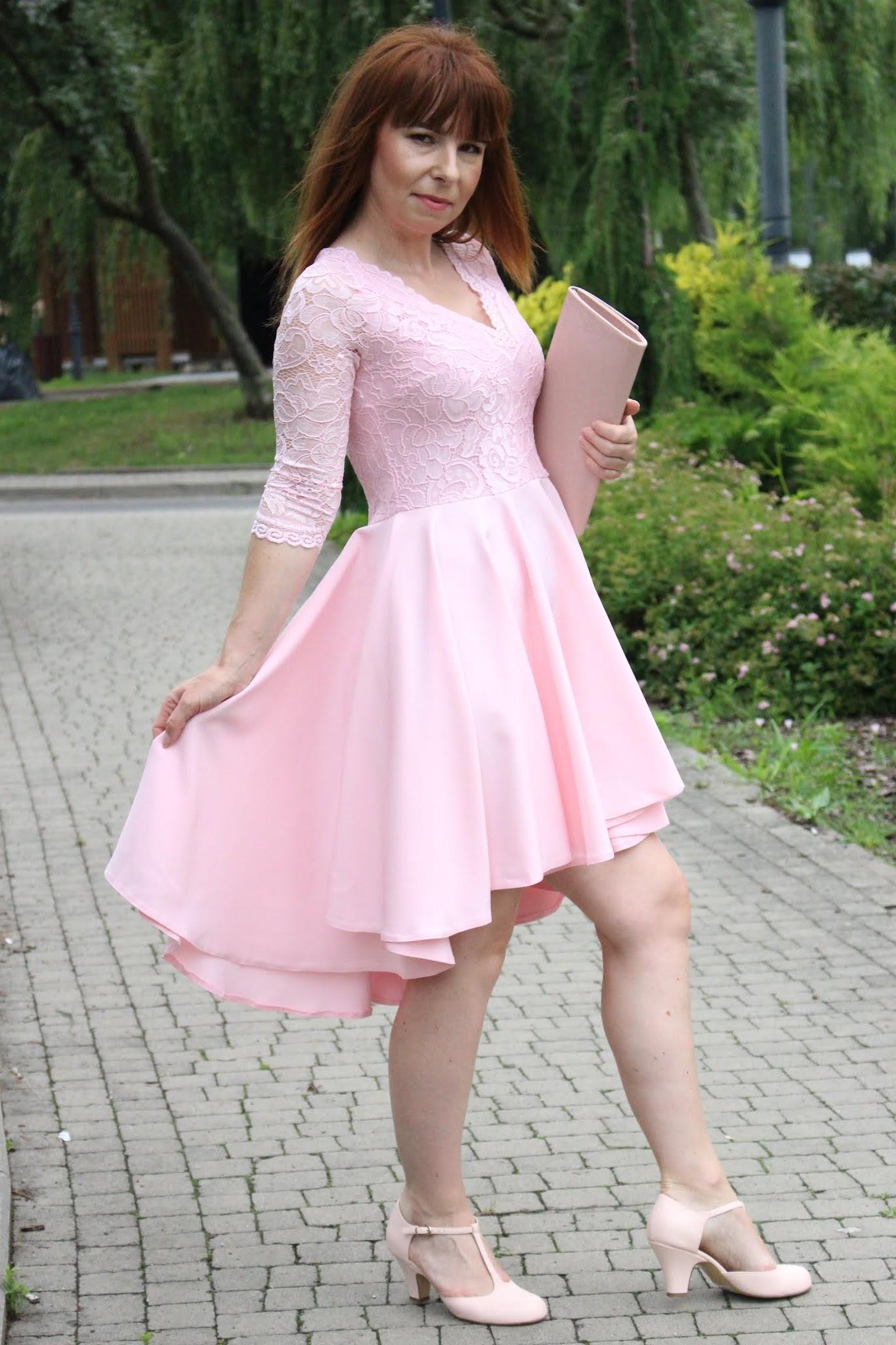 Fashionmb koronkowa sukienka koktajlowa