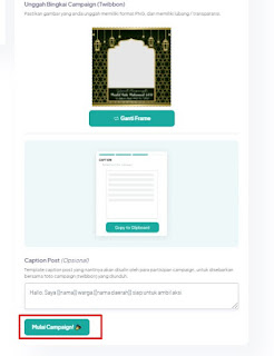 cara upload twibbon di twibbonize.com5 mulai campaign - kanalmu