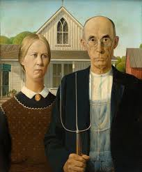 The farmer and his wife.