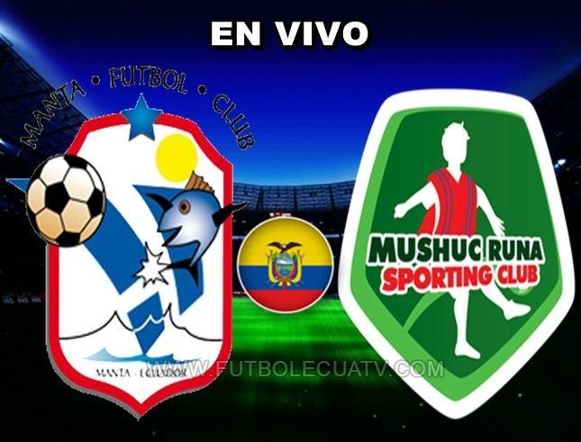 Manta FC recibe al Mushuc Runa en vivo a partir de las 15:00 horario determinado por la comitiva a realizarse en el Estadio Jocay ciudad de Manta por los 16avos ida de la Copa Ecuador, siendo el árbitro principal Anthony Díaz Mora con transmisión del medio autorizado El Canal del Fútbol.