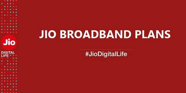 Reliance Jio Broadband Plans 21 April 2017: GigaFiber New Offers