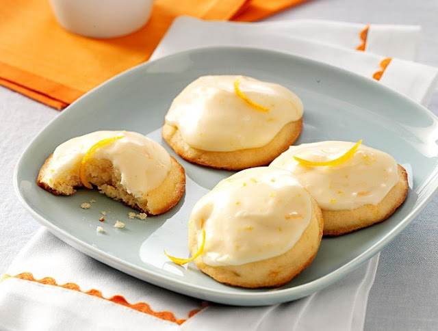Orange Creamsicle Cookies #cookies #desserts
