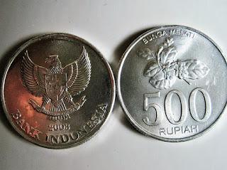 Uang receh atau koin Indonesia