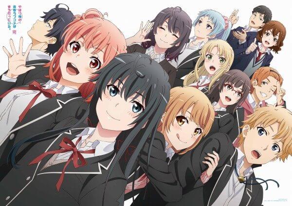جميع حلقات أنمي Yahari Ore no Seishun Love Comedy wa Machigatteiru Kan مترجم