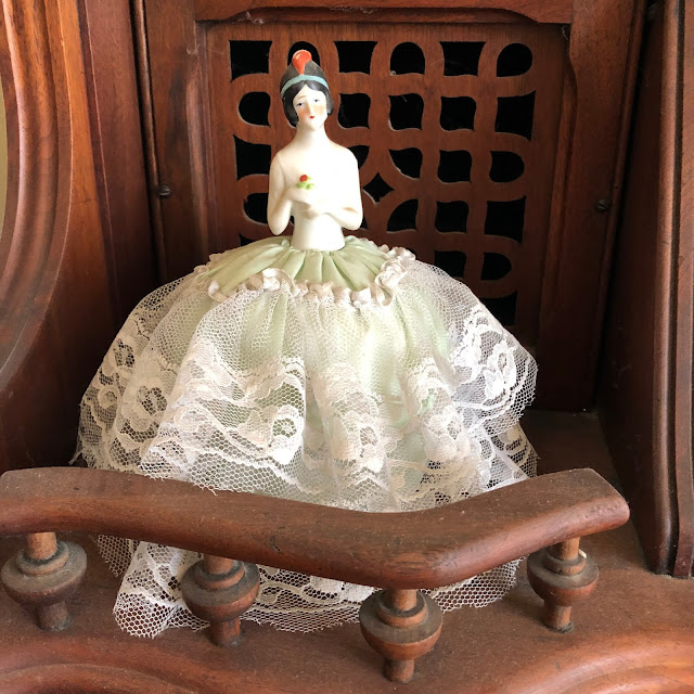 Victorians used pincushions that were also beautiful dolls.