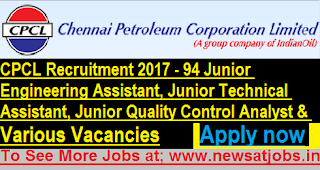 CPCL-94-Junior-Assistant-Technical-Assistant-Quality-Analyst-&-Various-Vacancies