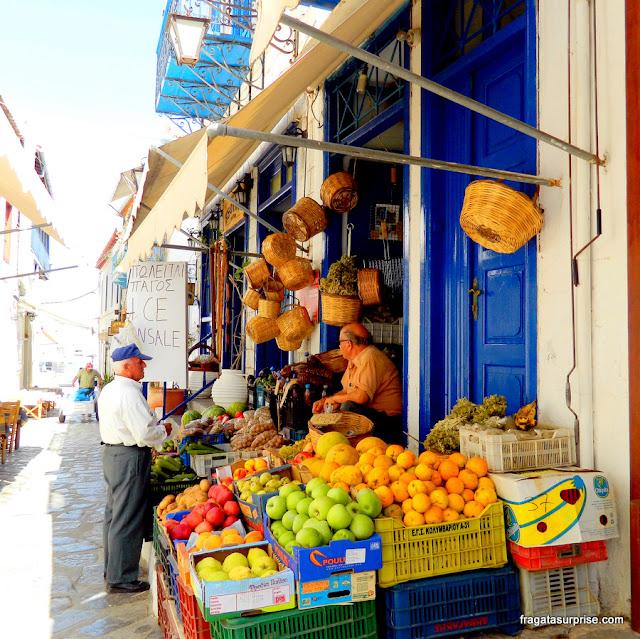 Frutas na Grécia