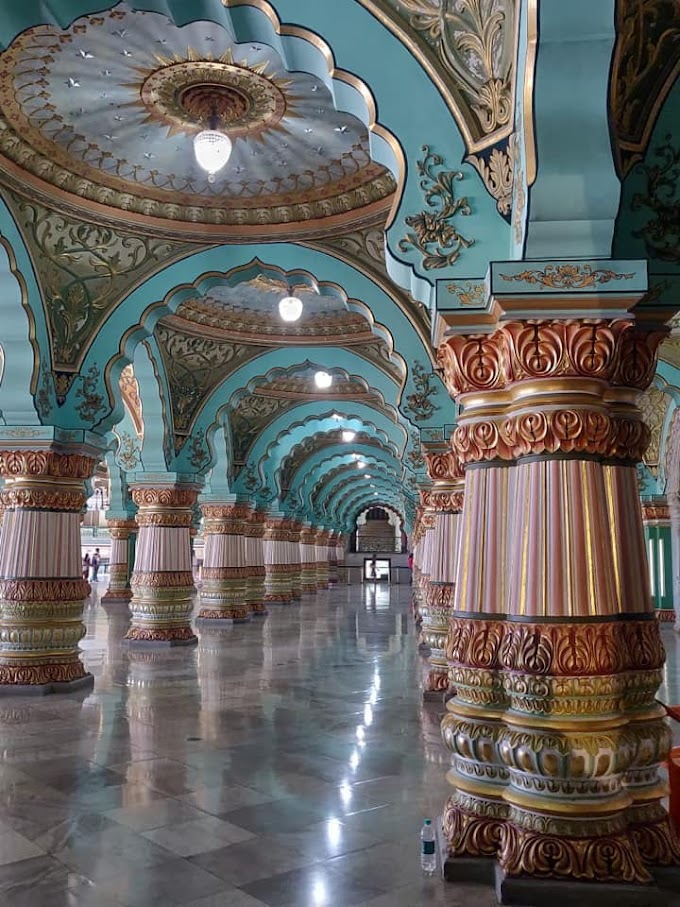 Beauty of Mysore Palace