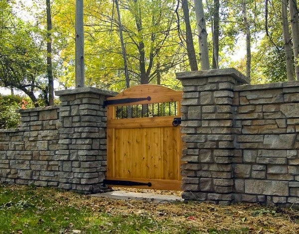 Some Art And Craft Ideas Natural Stacked Stone Wall Ideas