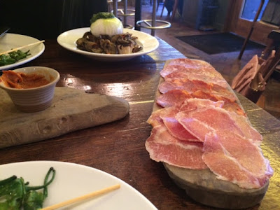 Ember Yard, London, Tapas, Spanish, Italian, Charcuterie, High-End, Dining