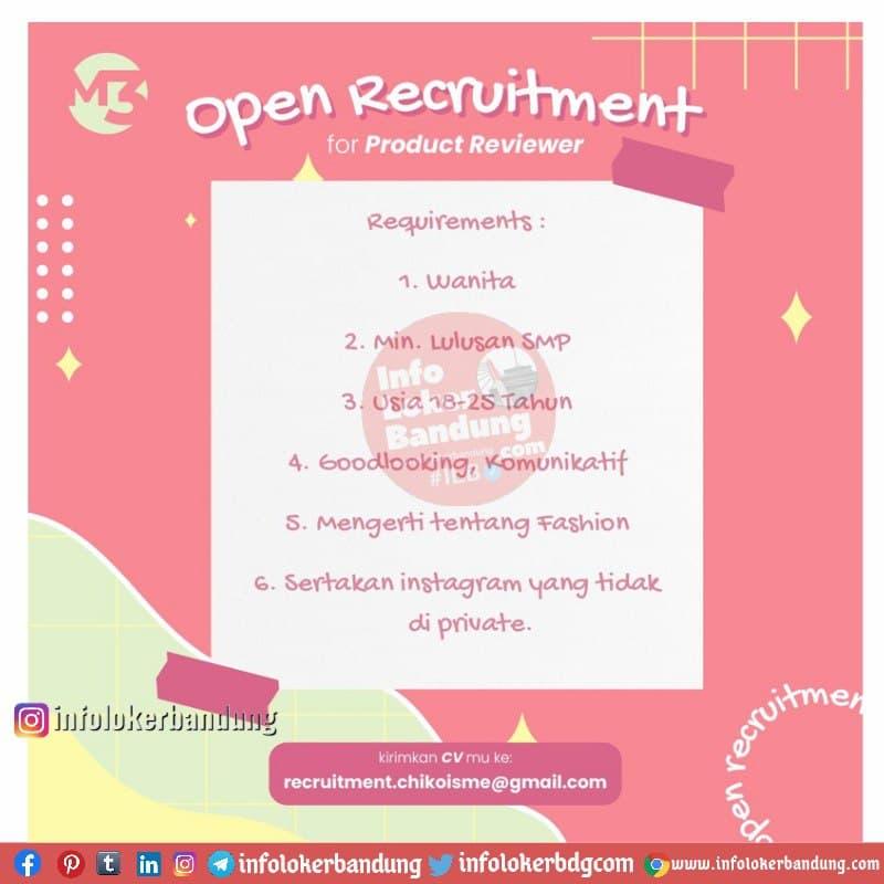 Lowongan Kerja Product Reviewer Chikoisme Bandung April 2021