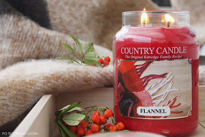 country candle flannel