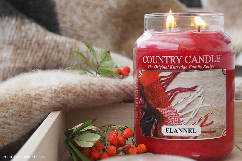Country Candle Flannel - zapach na wrzesień