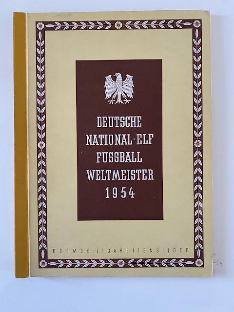 Copertina Kosmos World Cup 1954