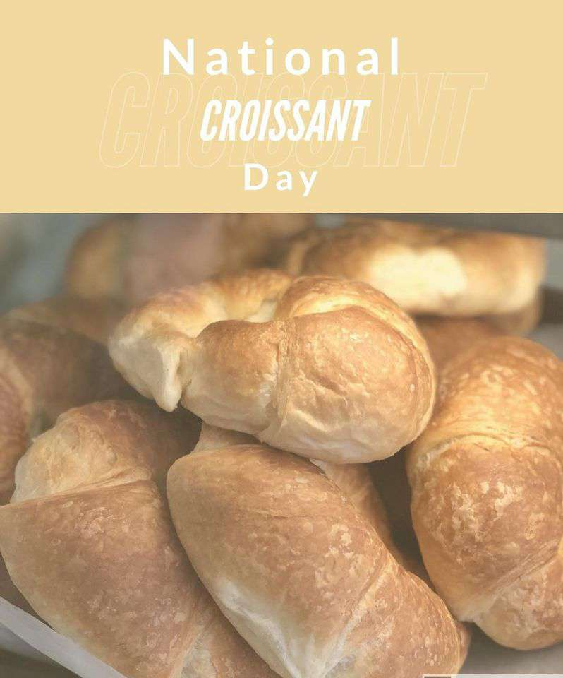 National Croissant Day Wishes For Facebook