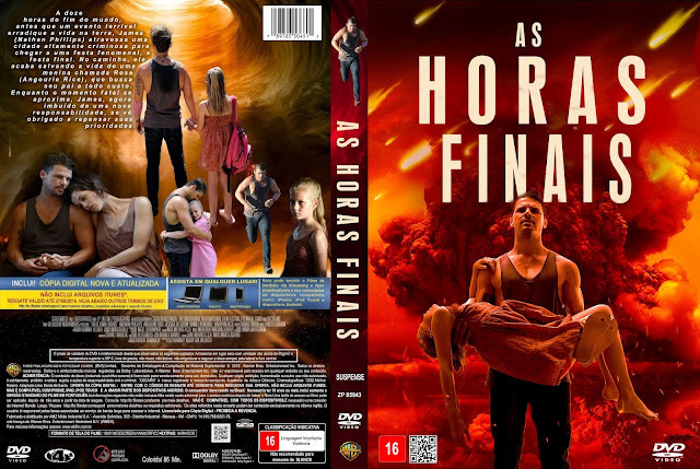 Capa DVD As Horas Finais
